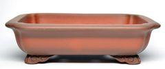 Unglazed Rectangle Chinese - High Quality Pot - 8.5x6.5x2.25