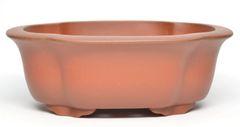 Unglazed Rectangle Chinese - High Quality Pot - 7x5.5x2.5