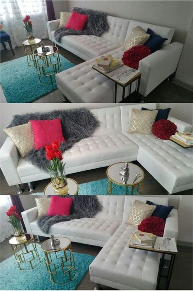 Cheap White Leather Sectional 399 Discount Furniture