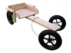Kombi Wooden Go Kart Kit Tough Enough For Adult Use