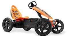Rally Orange Kids Pedal Go Kart
