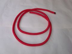 Red steering rope