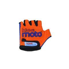 Kiddimoto Orange Driving Gloves