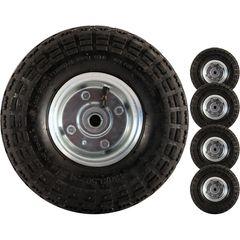 4 x Heavy duty wheels