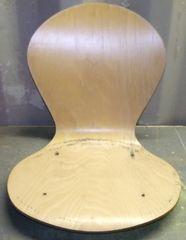Laminated wooden seats