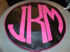 Monogram Spare Tire Cover CBL JKM