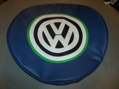 VW Van Royal Blue Spare Tire Cover