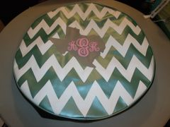 Chevron Monogram Spare Tire Cover Big Texas AGR
