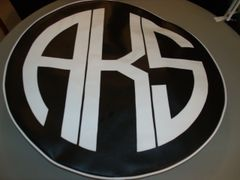 Monogram Spare Tire Cover CBL AKS