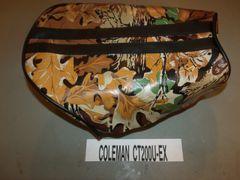 Coleman CT200U-EX Mini Bike Seat Upholstery Light Brown 2 Stripes