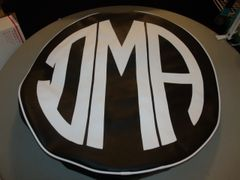 Monogram Spare Tire Cover CBL DMA
