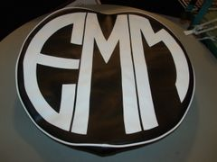 Monogram Spare Tire Cover CBL EMM