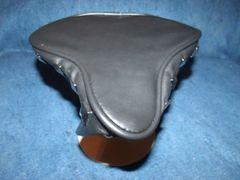 Beach Cruiser Seat Upholstery Black With Studs