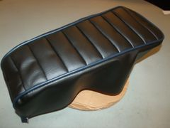 AAAA Paul DB30 All Black Tuck N Roll Seat