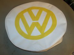 VW Van Tire Cover Yellow