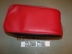 Coleman CT100U Mini Bike Seat Upholstery Red Top Black Sides