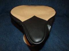 Beach Cruiser Seat Upholstery Caramel And Black