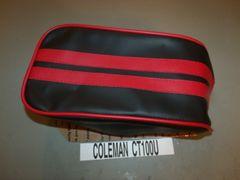 Coleman CT100U Mini Bike Seat Upholstery 2 Stripe Racing