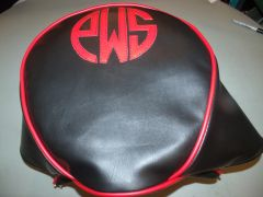 Baja Warrior Heat Mini Bike Seat Upholstery Monogram