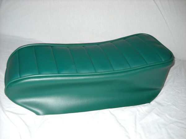 Mini Bike Seat Upholstery Tuck N Roll Dark Green Lxmboutique Spare