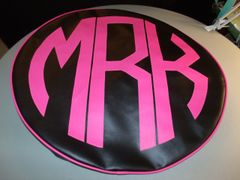 Monogram Spare Tire Cover CBL MRK