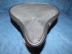 Beach Cruiser Seat Upholstery Black Straw