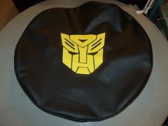 Autobots Jeep Spare Tire Cover