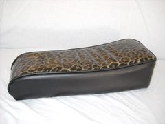 Mini Bike Seat Upholstery db30 Cheetah With Black Sides