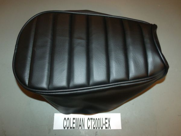 Coleman Ct200u Ex Mini Bike Seat Upholstery Tuck N Roll