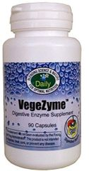 VegeZyme (Vegetarian Digestive Enzyme) 90 Cap