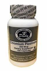 Chromium Picolinate 200mcg 100cap