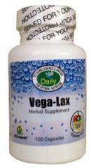 Vega-Lax (Senna, Cascara, Aloe & Fiber) 100 Cap