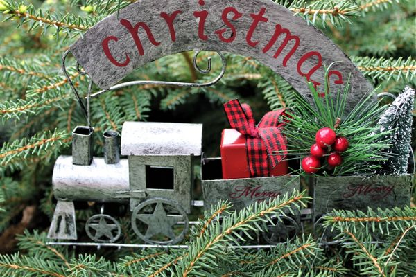 metal train christmas ornament from kurt adler shop on line for