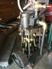 CA. 1895 Twin Cylinder Reversing Steam Launvh Engine