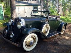 1931 Lasalle Convertible Coupe. SOLD