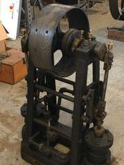 unidentified ca 1870 Twin Cylinder Inverted Steam Engine
