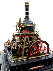 Most Incredible 1hp Crossman Steam Plant INQUIRE
