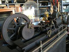Ca. 1885 Cypher Overhead Rotary Valve Steam Engine