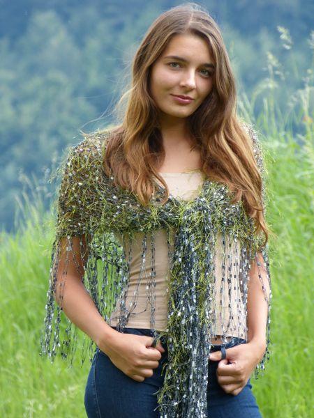 Moss green Shawl