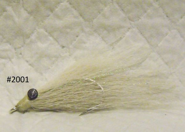 Clouser Minnow with White (Teaser)