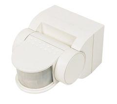 Sensor PIR White 180º 12M max