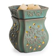 Patina 2 in 1 Fragrance Warmer with Flickering LED Light
