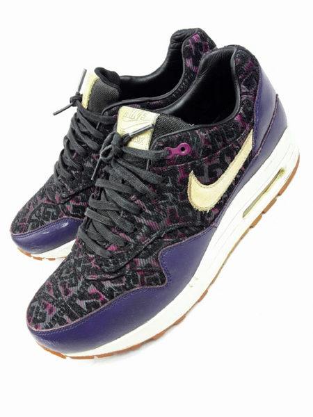 pretty nice f091d af5b8 Limited edition retro Nike air max 1 jigsaw womans trainers size uk6 issued  2013