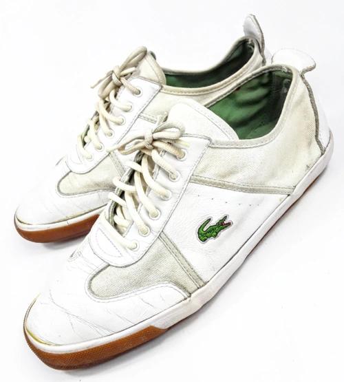4c1928787311 mens true vintage lacoste trainers uk size 9
