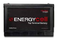 Outback Power EnergyCell High Capacity 106RE AGM 12V 100Ah