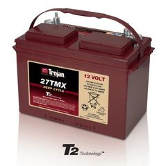 Trojan Battery 27TMX Deep-Cycle Flooded 12V 105Ah