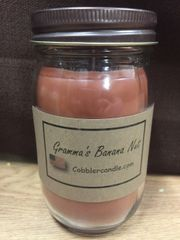 Gramma's Banana Nut 16 ounce jar candle