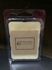 Vanilla Creme Brulee Warmer tart pack