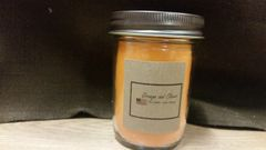 Orange and Cloves 8 ounce jar candle