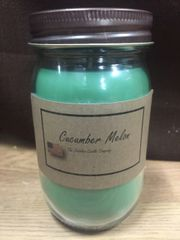 Cucumber Melon 16 ounce jar candle